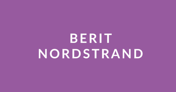 Berit Nordstrand case studie